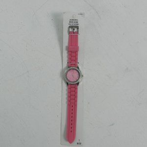 Darice Ladies Pink Rhinestone Watch NWT
